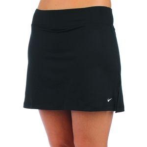 Nike Dri-Fit PowerKnit Tennis Skirt Black Medium